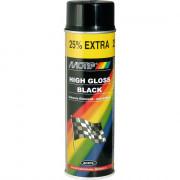 04005 MOTIP akrylový lak černá lesklá 500ml 04005 MOTIP