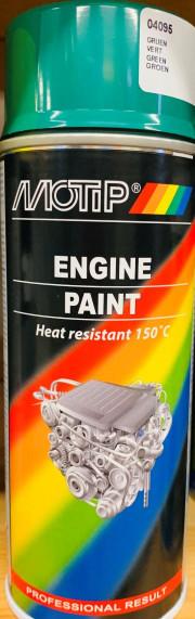 04095 MOTIP barva na motory zelená 400ml 04095 MOTIP