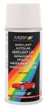 SD1050 MOTIP akrylový autolak ŠKODA BÍLÁ ALPIN150ml MOTIP