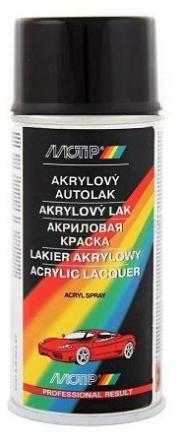 SD1999 MOTIP akrylový autolak ŠKODA ČERNÁ LESKLÁ 150ml SD1999 MOTIP