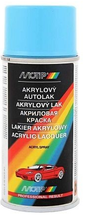 SD4185 MOTIP akrylový autolak ŠKODA BLANKYTNÁ MODŘ 150ml SD4185 MOTIP