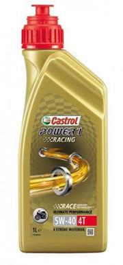 CAS5W404T-1L CASTROL 5W40 4T - 1L - POWER 1 RACING - CAS5W404T-1L CASTROL
