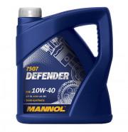 MN7507-4C MANNOL 10W40 - 4L - DEFENDER 7507 VW 501.01/505.00, MB 229.1 - MN7507-4C SCT - MANNOL