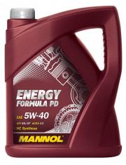 PD50520 MANNOL 5W40 - 5L - ENERGY FORMULA PD VW 502.00/505.01 - PD50520 SCT - MANNOL