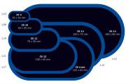 1.09 Ferdus Záplata ZS 10 na opravu duší 50 x 25 mm 1.09 Ferdus
