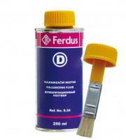 9.34 Ferdus Vulkanizační roztok D 250 ml + větší ště 9.34 Ferdus