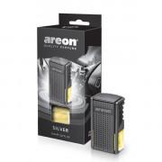 AC02 Luxusní parfém do auta Areon Silver (do mřížky, 8ml) Areon