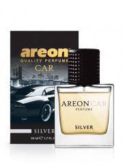 MCP05 Luxusní parfém do auta Areon Silver (50ml, flakón) Areon