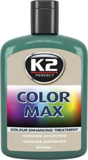 EK020CZ K2 COLOR MAX TMAVĚ ZELENÁ - aktivní vosk 200ml EK020CZ K2