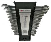 NE01000SK11 ENERGY Sada plochých očkových klíčů - 11 ks - NE01000SK11 ENERGY