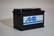 570409 AAB startovací baterie 70Ah 570409 volný