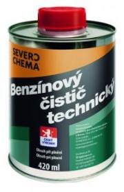 CISTIC420ML SEVERO CHEMA - 420 ml - Benzínový čistič technický - CISTIC420ML volný