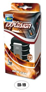 EX19 POWER AIR EXPLOSION GRAND kapalinový osvěžovač 10ml - New Car EX19 volný