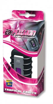 EX28 POWER AIR EXPLOSION GRAND kapalinový osvěžovač 10ml - Tropical fruits EX28 volný