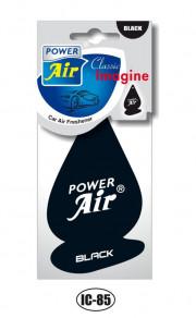 IC85 POWER AIR IMAGINE CLASSIC papírový osvěžovač - Black IC85 volný