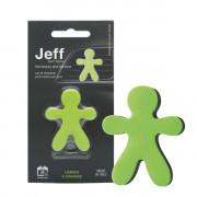 JJEFFS06AC Mr&Mrs JEFF zelený soft Lemon & Orange JJEFFS06AC volný